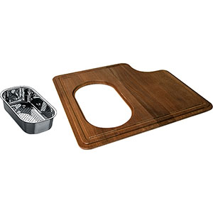 FRANKE PS19-45SP PSX110199/PSX1101912 IROKO SOLID WOOD CUTTING BOARD