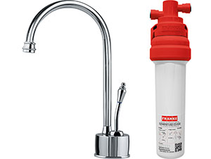 Franke DW6100-100  Farm House Little Butler Cold Filtration Combo, Polished Chrome