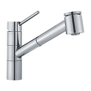 Franke FF-2000 Twin Kitchen Faucet, Polished Chrome