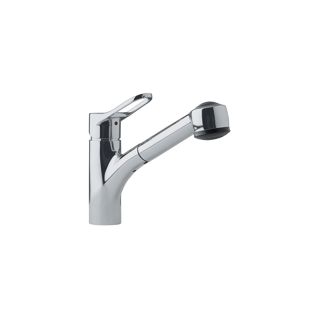 Franke Kitchen Faucet: Franke FFPS280 Mambo Series Single Handle Pull-Out Kitchen