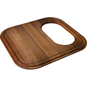 FRANKE GN20-45SP GNX11020 IROKO SOLID WOOD CUTTING BOARD WITH COLANDER