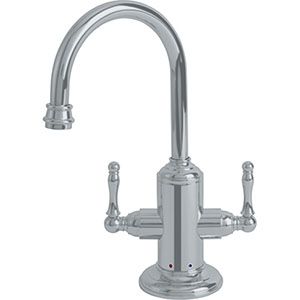 Franke LB12280 Farm House Little Butler Hot & Cold, Satin Nickel