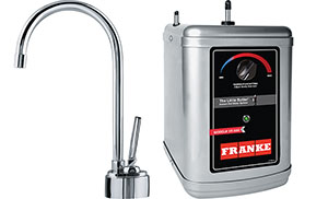 Franke LB8100-HT Twin Little Butler Hot Combo, Chrome