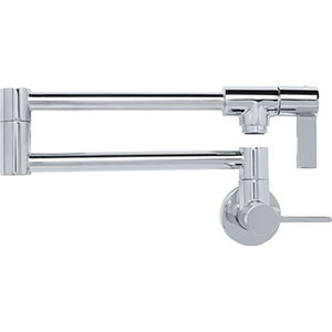 Franke PF3100 Ambient Series Wall Mounted Pot Filler, Polished Chrome