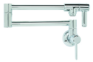 Franke PF3200 Logik Pot Filler Wall Mount, Chrome
