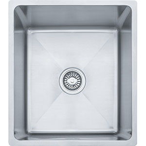 "Franke PSX1101610 Professional Series 19-1/2"" X 17-1/2"" Single Bowl Undermount Sink, Stainless Steel"
