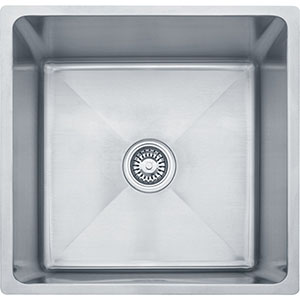 "Franke PSX1101912 Professional Series 20-4/9"" X 19-1/2"" Single Bowl Undermount Sink, Stainless Steel"