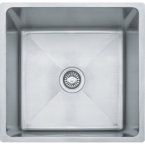 "Franke PSX110199 Professional Series 20-4/9"" X 19-1/2"" Single Bowl Undermount Sink, Stainless Steel"