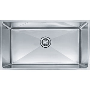 "Franke PSX1103312 Professional Series 34"" X 19-5/8"" Single Bowl Undermount Sink, Stainless Steel"