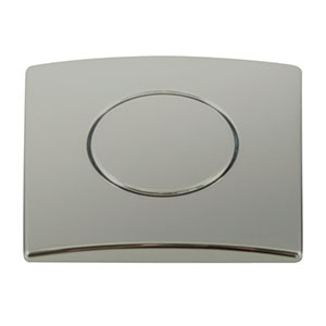 Franke WD981SN Square Waste Disposer Air Switch - Polished Nickel